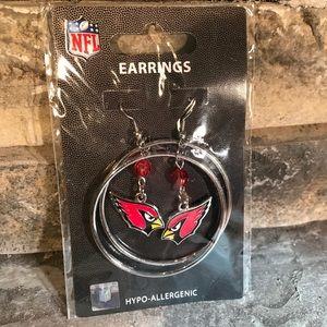 NFL Arizona Cardinals Earrings
